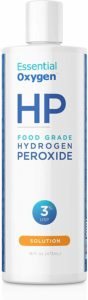Hydrogen Peroxide and baking soda is the best hard water stain removers for granite countertops.
