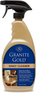 Granite Gold Daily Cleaner is our pick for the best daily cleaner for granite countertops.