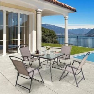 You can buy this Crestlive 5-piece patio furniture set for under $300.