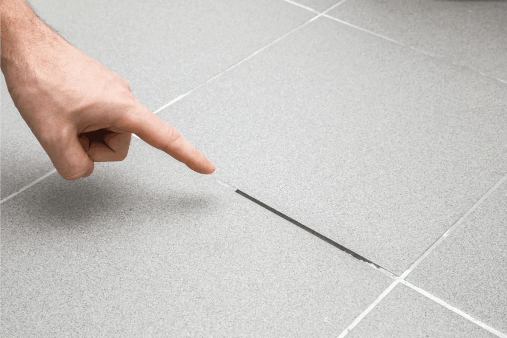 Damaged grout lines are a common cause of shower leaks.