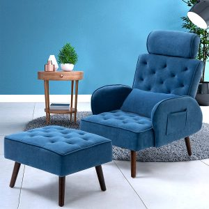 Ample back support makes this one of the best living room chairs for back pain sufferers.