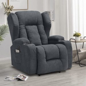 This IPKIG recliner is also one of the best living room chairs for back pain sufferers.