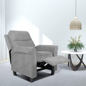 SMUG's recliner chair is one of the best living room chairs for back pain sufferers.